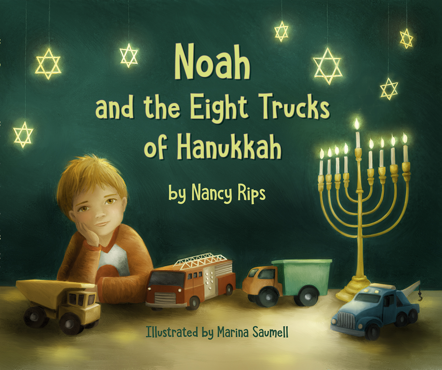 Noah and the Eight Trucks of Hanukkah